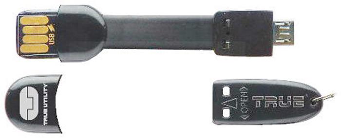 Брелок True Utility MobileCharger, цвет: черный