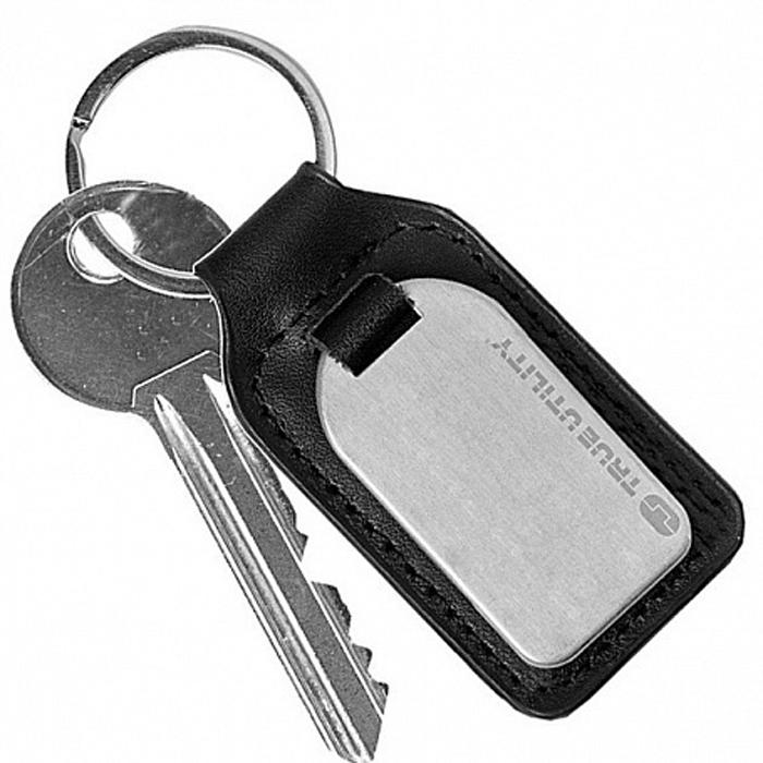Брелок True Utility Leather FobTool, цвет: черный