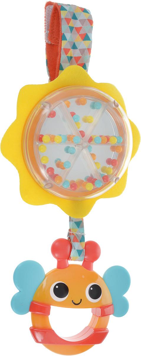 цена на Bright Starts Развивающая игрушка-погремушка Пчелка 11119BS