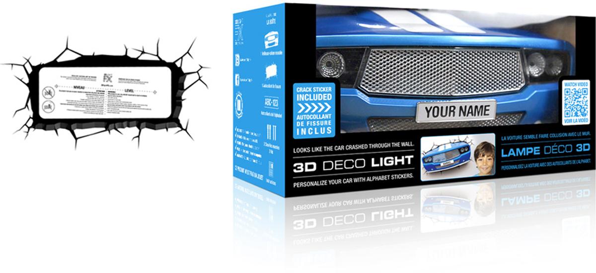 3DLightFXНастенный 3D cветильник Classic Car 3DLightFX