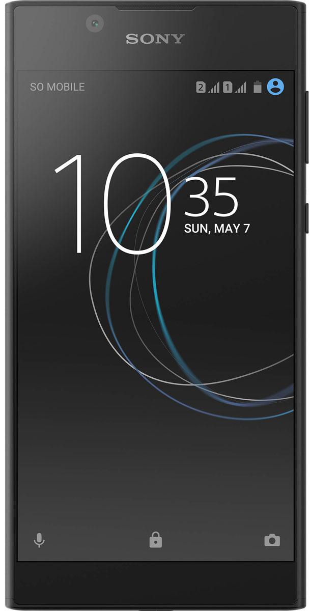 Смартфон Sony Xperia L1 2/16GB black смартфон sony g3312 xperia l1 dual black