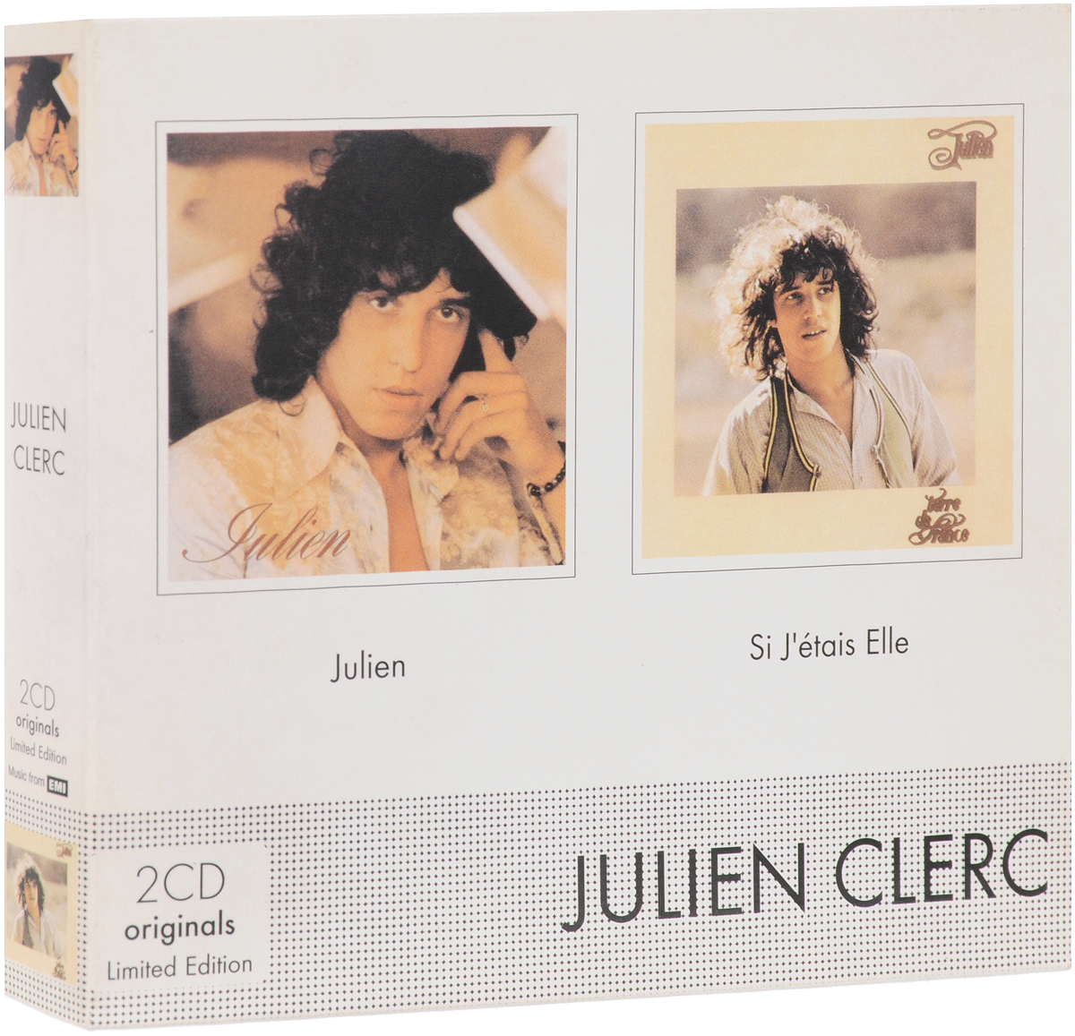 цена Жульен Клерк Julien Clerc. Terre De France (2 CD)