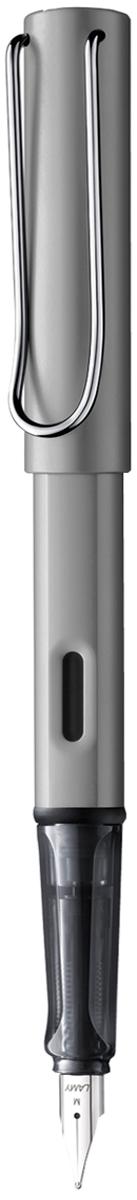 Lamy Ручка перьевая Al-Star синяя цвет корпуса серый металлик толщина F lamy карандаш механический al star цвет серый металлик