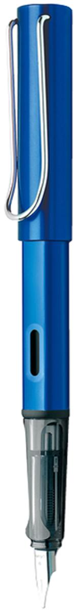 Lamy Ручка перьевая Al-Star синяя цвет корпуса синий толщина F lamy ручка перьевая lux цвет корпуса серый металлик толщина f
