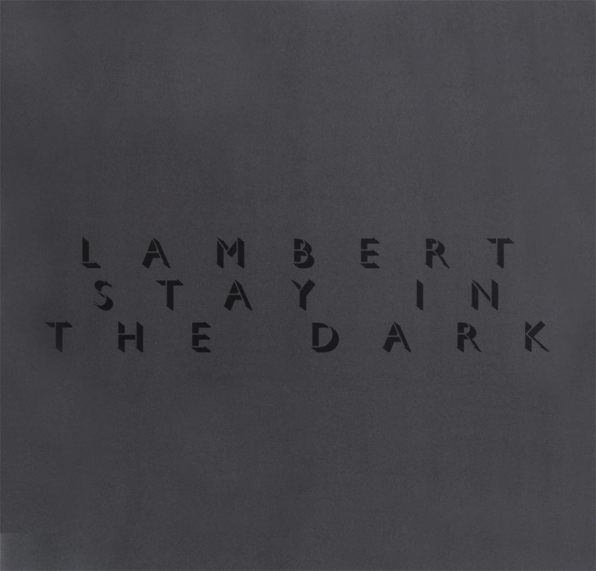 Lambert Lambert. Stay In The Dark (LP) adam lambert adam lambert the original high