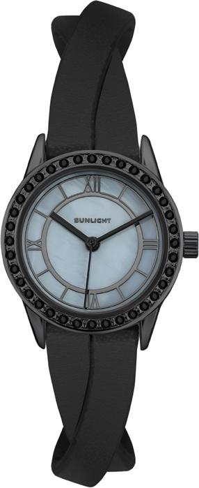 Часы наручные женские Sunlight, цвет: черный. S230ABZ-01LB