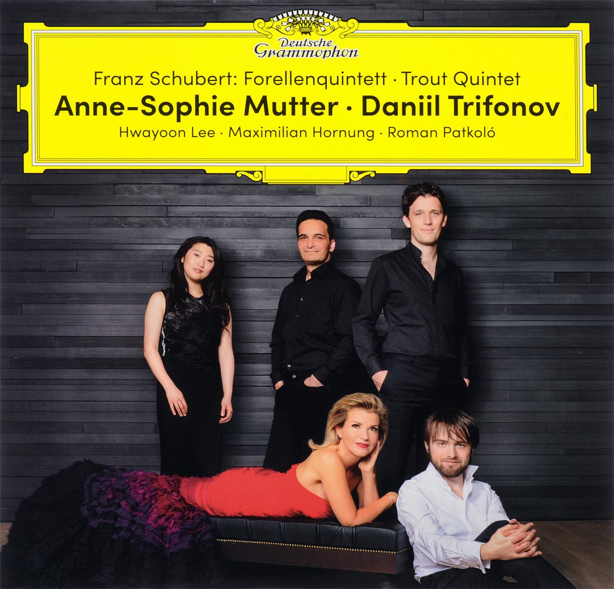 Franz Schubert. Anne-Sophie Mutter, Daniil Trifonov. Forellenquintett (Trout Quintet) (2 LP) walter trout walter trout face the music 25th anniversary 2 lp