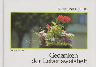 Книга Gedanken der Lebensweisheit/Жизненная мудрость. Мысли