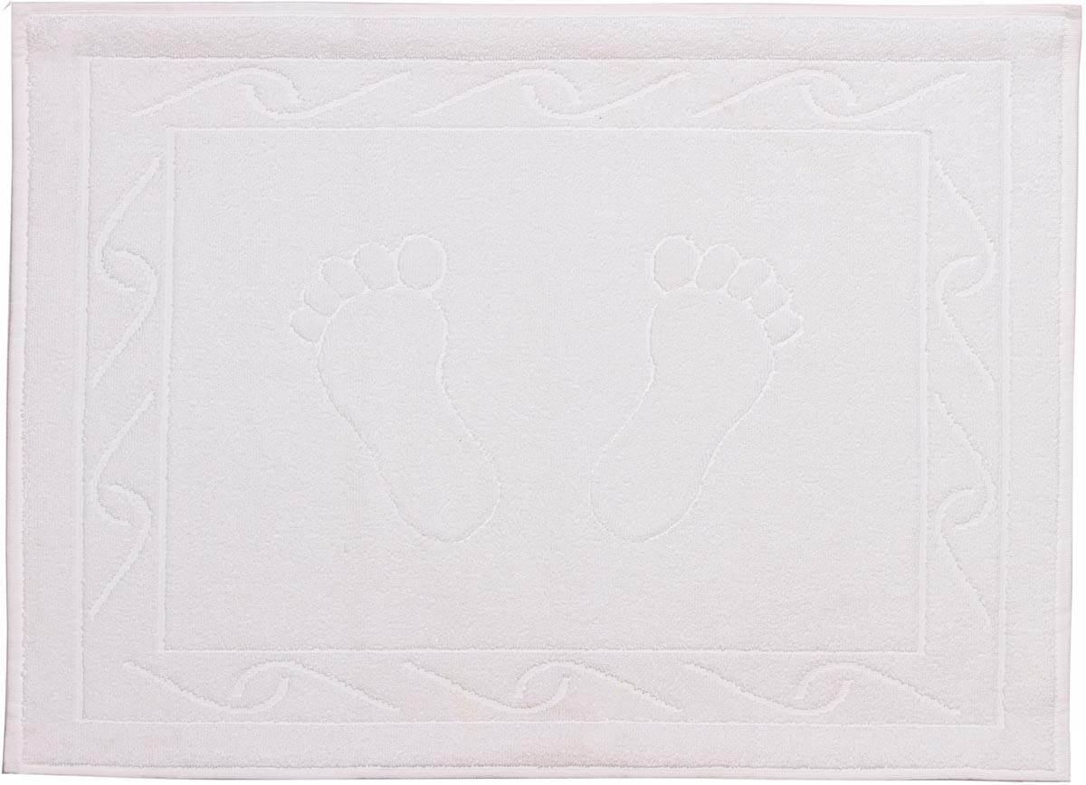 """Полотенце махровое для ног Hobby Home Collection """"Hayal"""", цвет: белый, 50 х 70 см"""