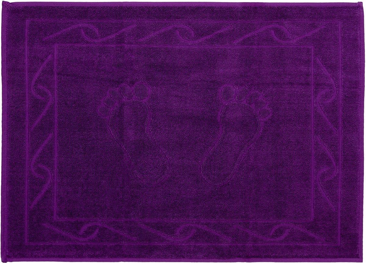 "Полотенце махровое для ног Hobby Home Collection ""Hayal"", цвет: фиолетовый, 50 х 70 см"