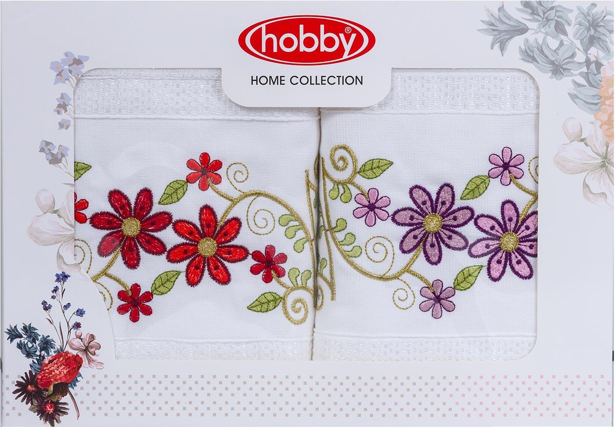 "Полотенце махровое Hobby Home Collection ""Gulistan"", 50 х 90 см, 2 шт"