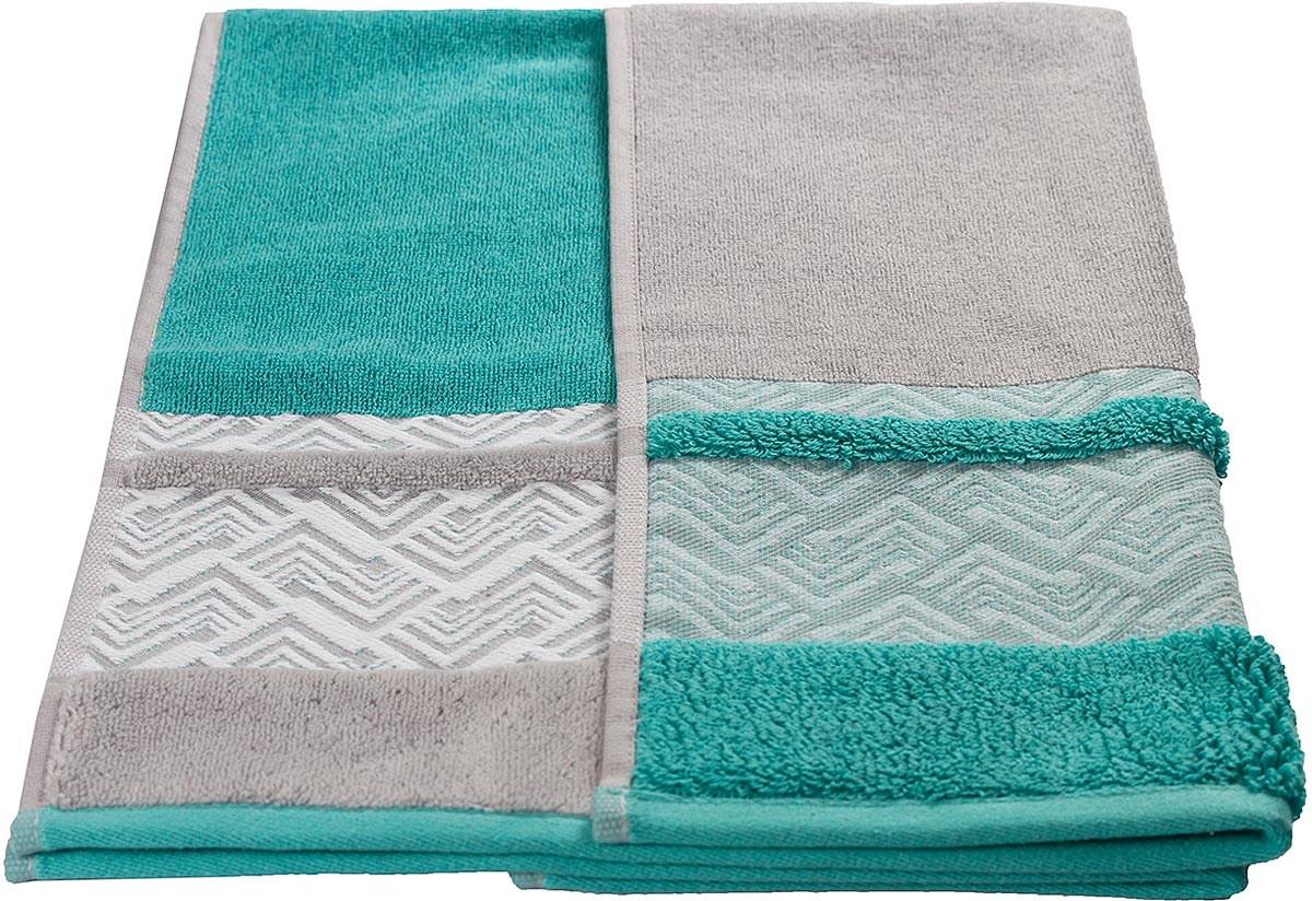 """Полотенце махровое Hobby Home Collection """"Nazende"""", цвет: ментоловый, 50 х 90 см"""