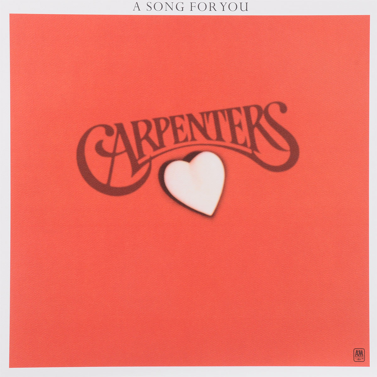 Carpenters. A Song For You (LP)