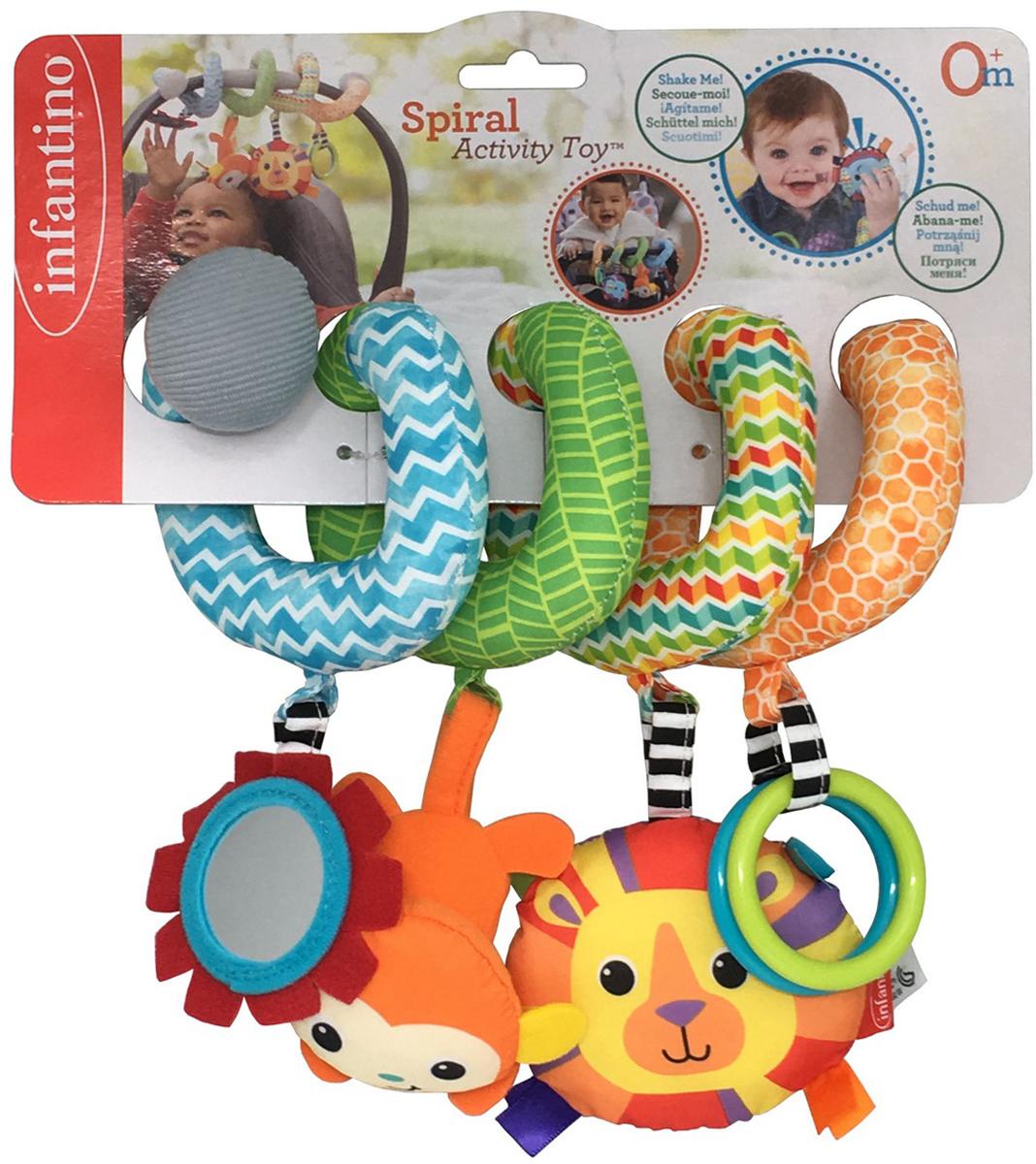 Infantino Развивающая игрушка Спиралька развивающая игрушка infantino единорог