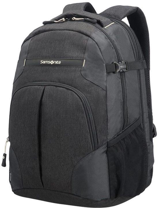 Рюкзак городской Samsonite Rewind, цвет: черный, 29 л рюкзак для ноутбука samsonite рюкзак для ноутбука rewind 31x44x22 см