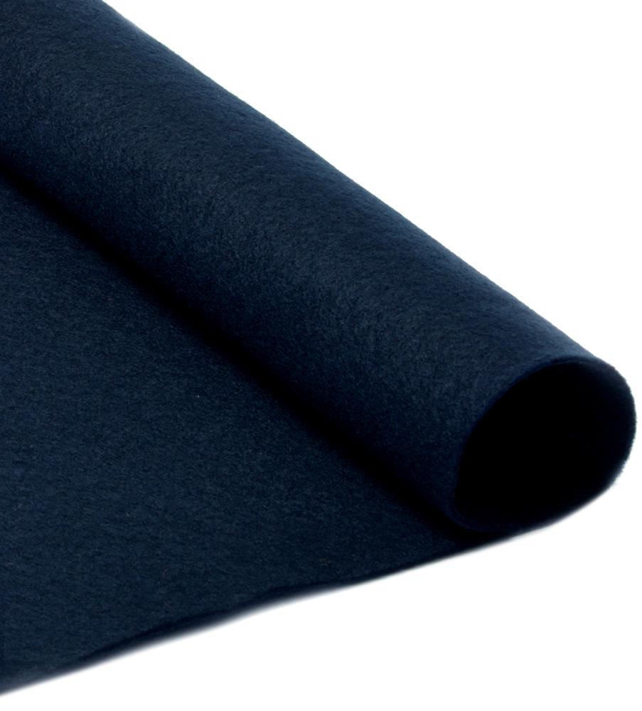 """Фетр листовой """"Ideal"""", мягкий, цвет: черный (655), 20 х 30 см, 10 шт"""