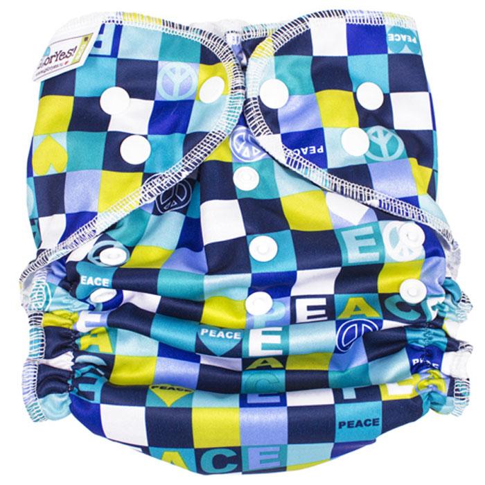 Многоразовый подгузник GlorYes! для плавания Мозаика 3-18 кг
