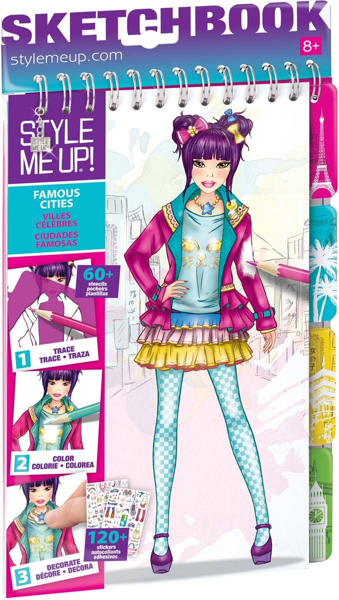 Style Me Up Блокнот дизайнера Модные города мира 1405