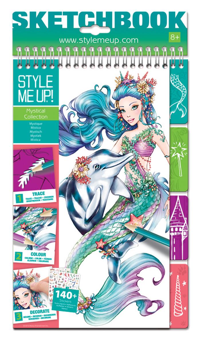 Style Me Up Блокнот дизайнера Русалочка