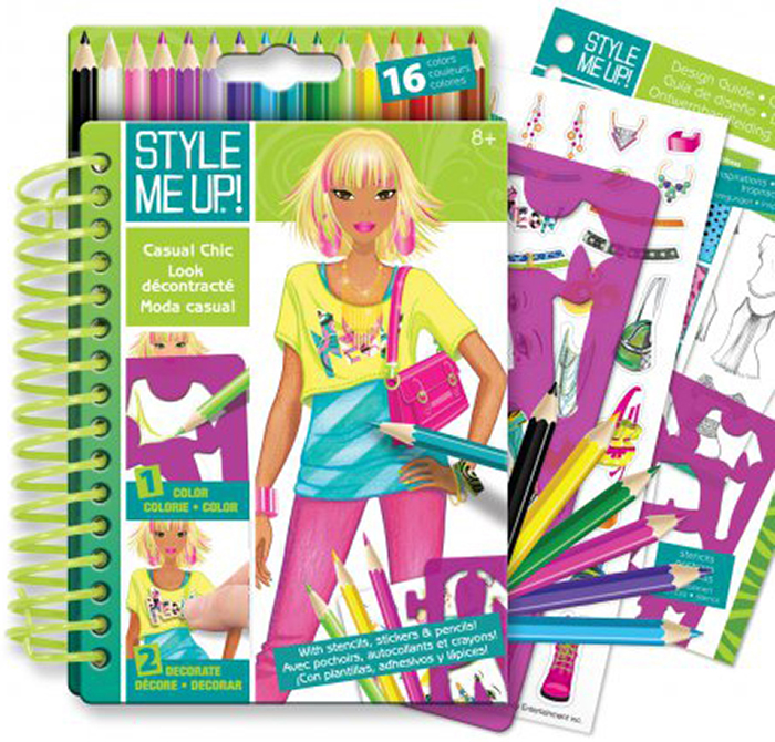 Style Me Up Блокнот дизайнера Городской шик