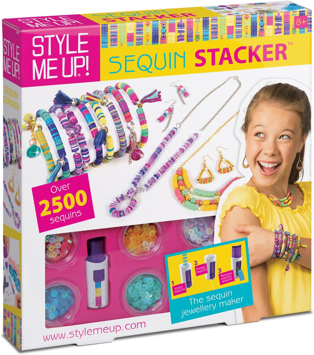 Style Me Up Набор для создания украшений с блёстками style me up style me up набор для создания украшений неоновые браслеты