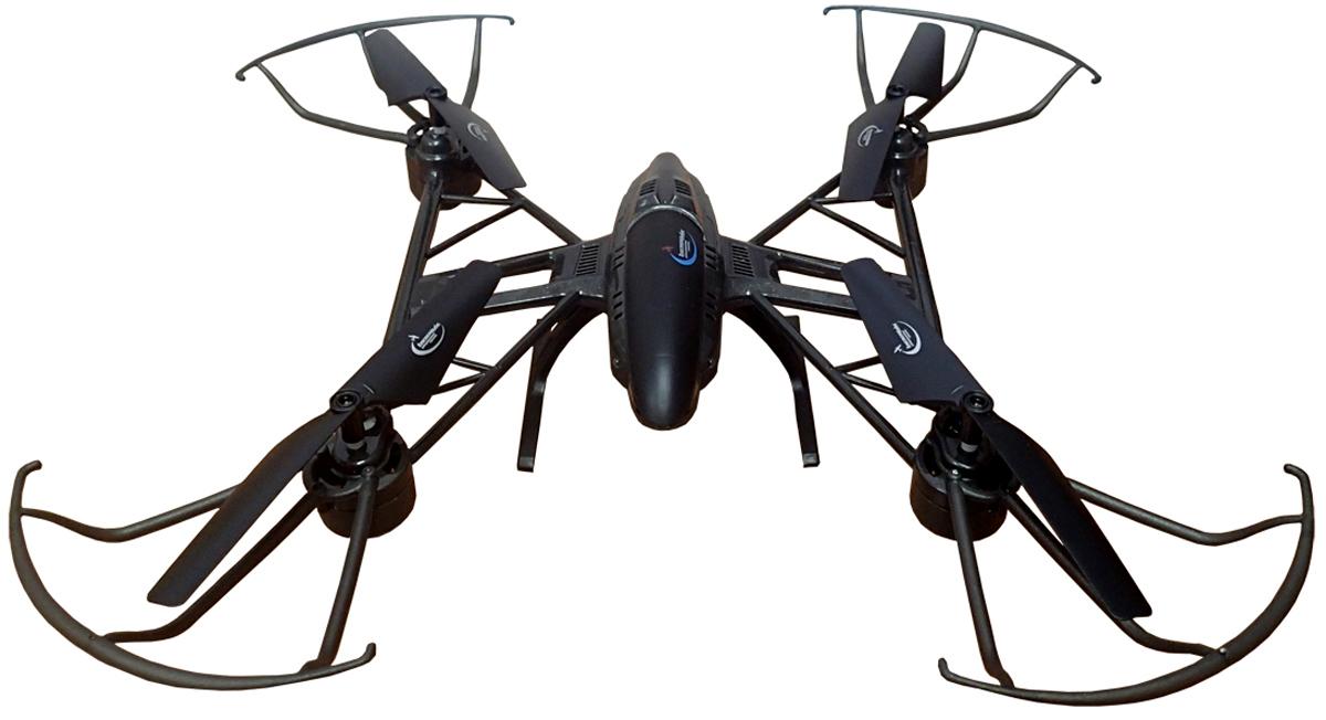 Властелин небес Квадрокоптер на радиоуправлении Космолет цвет черный