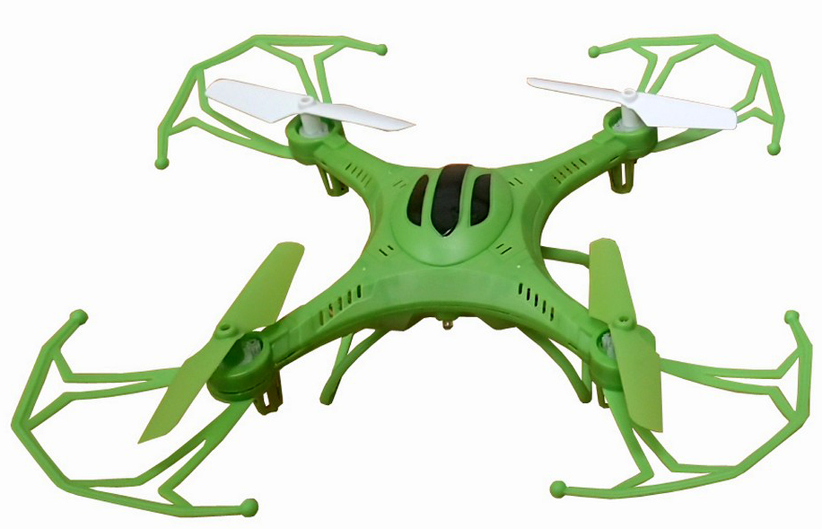 Властелин небес Квадрокоптер на радиоуправлении Послушный цвет зеленый