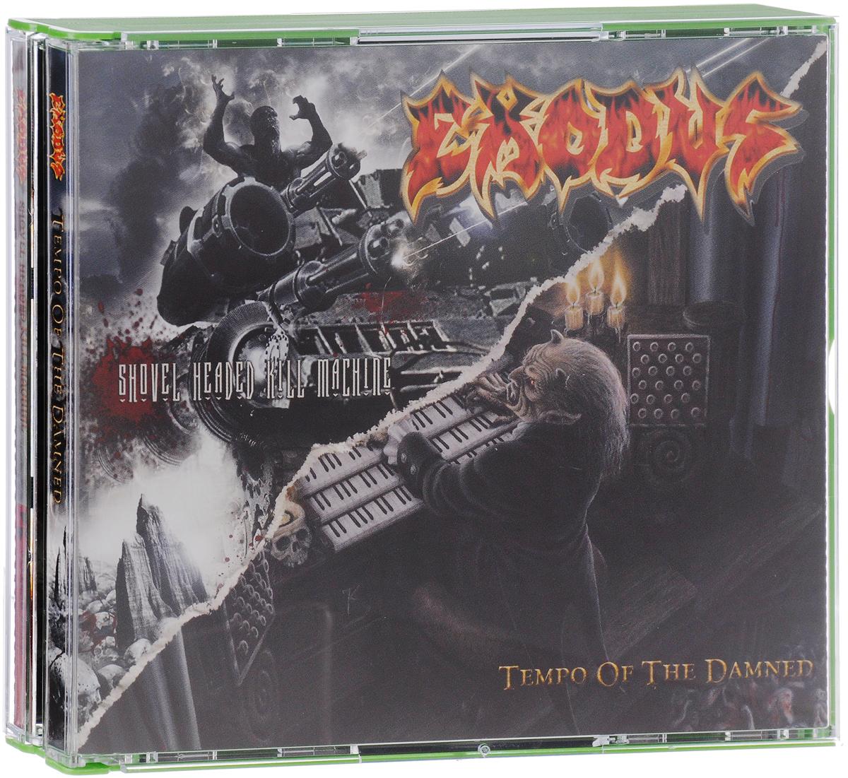 Exodus Exodus. Tempo Of The Damned / Shovel Headed Kill Machine (2 CD) johannes massini lesejournal exodus bis 2 samuel