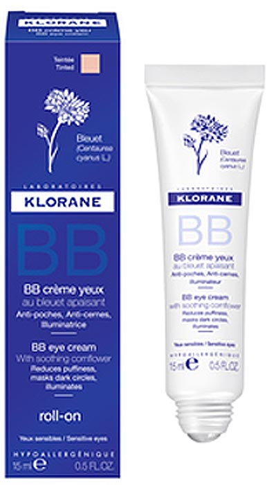 Klorane Роликовый BB-крем вокруг глаз, 15 мл где купить шампунь klorane