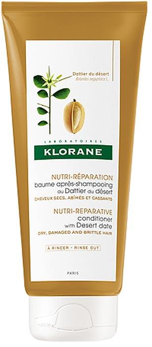 Klorane Бальзам-ополаскиватель питательный с маслом финика пустынного, 200 мл