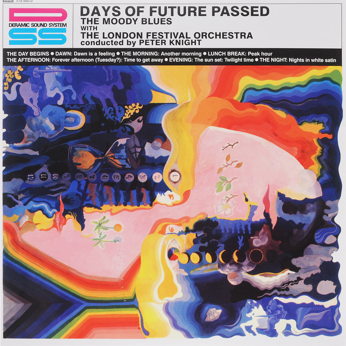The Moody Blues Moody Blues Days Of Future Passed LP