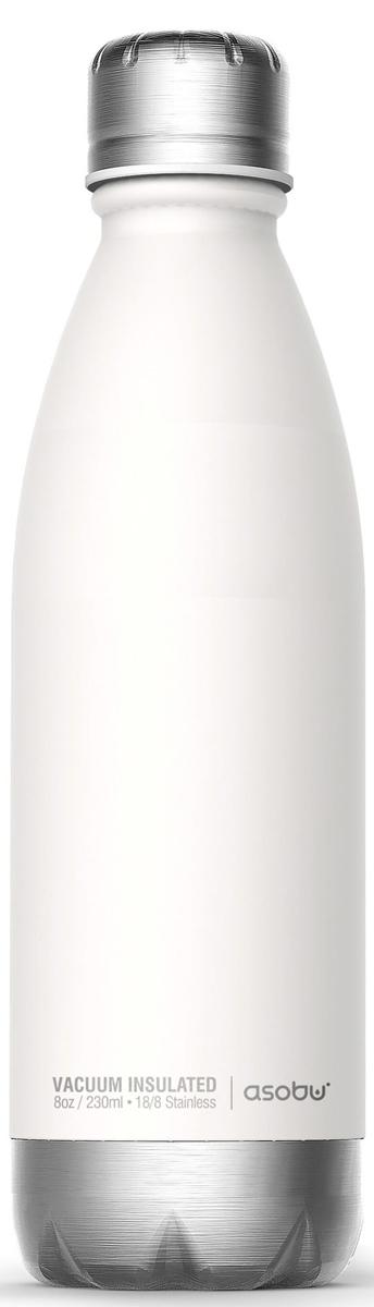Термобутылка Asobu Central Park, цвет: белый, серебристый, 0,51 л цена