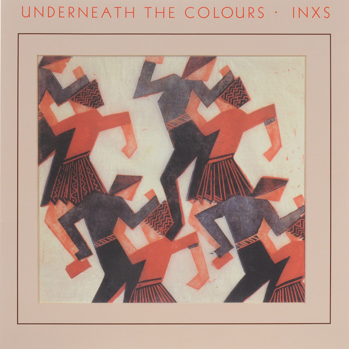 INXS INXS. Underneath The Colours (LP) inxs inxs underneath the colours