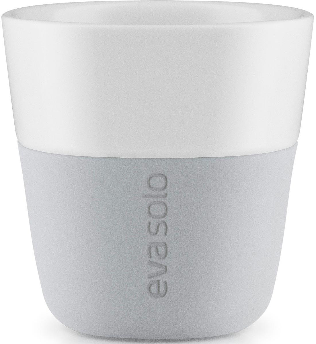 Фото - Чашка кофейная Eva Solo, цвет: серый, 80 мл, 2 шт [супермаркет] jingdong геб scybe фил приблизительно круглая чашка установлена в вертикальном положении стеклянной чашки 290мла 6 z