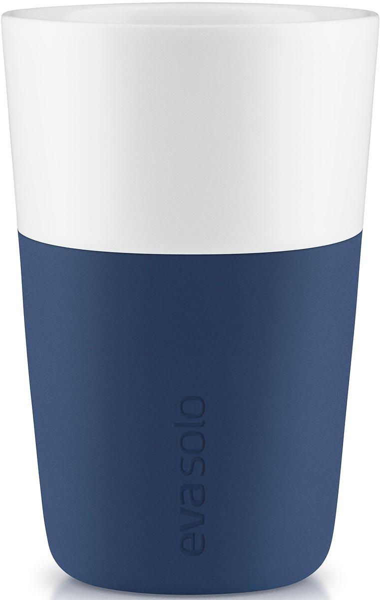 Фото - Чашка кофейная Eva Solo, цвет: темно-синий, 360 мл, 2 шт [супермаркет] jingdong геб scybe фил приблизительно круглая чашка установлена в вертикальном положении стеклянной чашки 290мла 6 z