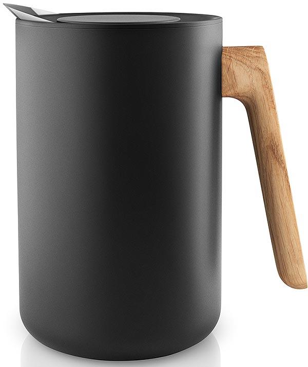 """Термокувшин Eva Solo """"Nordic kitchen"""", цвет: черный, 1 л"""