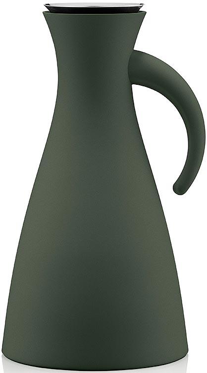 Термокувшин Eva Solo Vacuum, цвет: темно-зеленый, 1 л термокувшин eva solo vacuum jug 1l dark burgundy бордовый