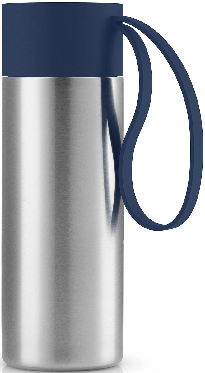 Термос Eva Solo To Go, цвет: темно-синий, 350 мл
