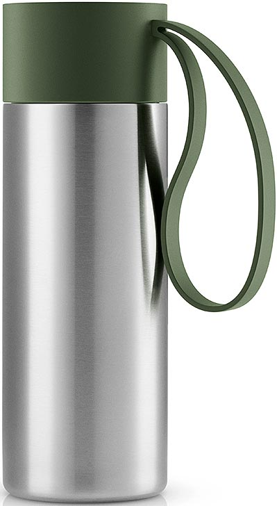 Термос Eva Solo To Go, цвет: темно-зеленый, 350 мл
