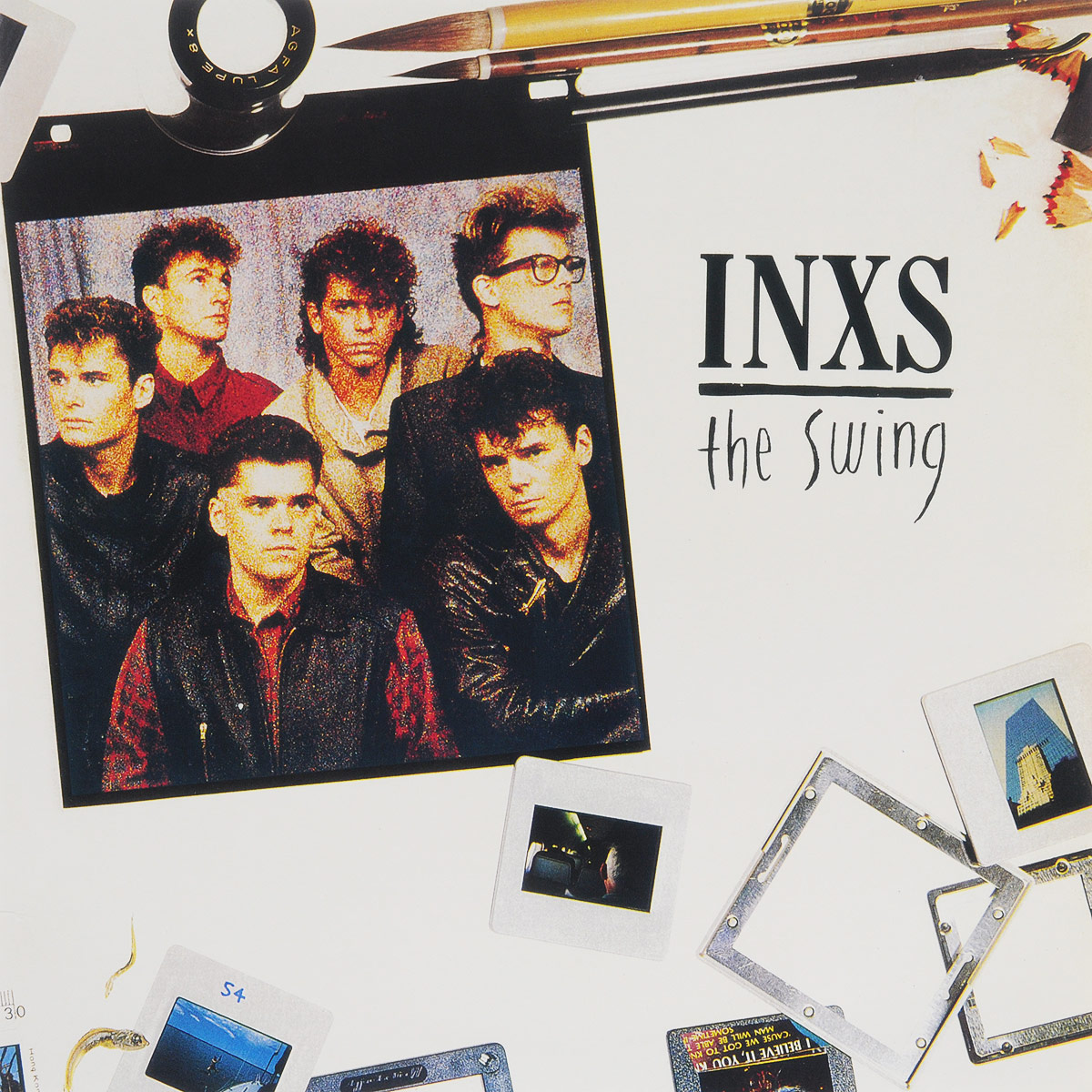 INXS INXS. The Swing (LP) inxs inxs underneath the colours