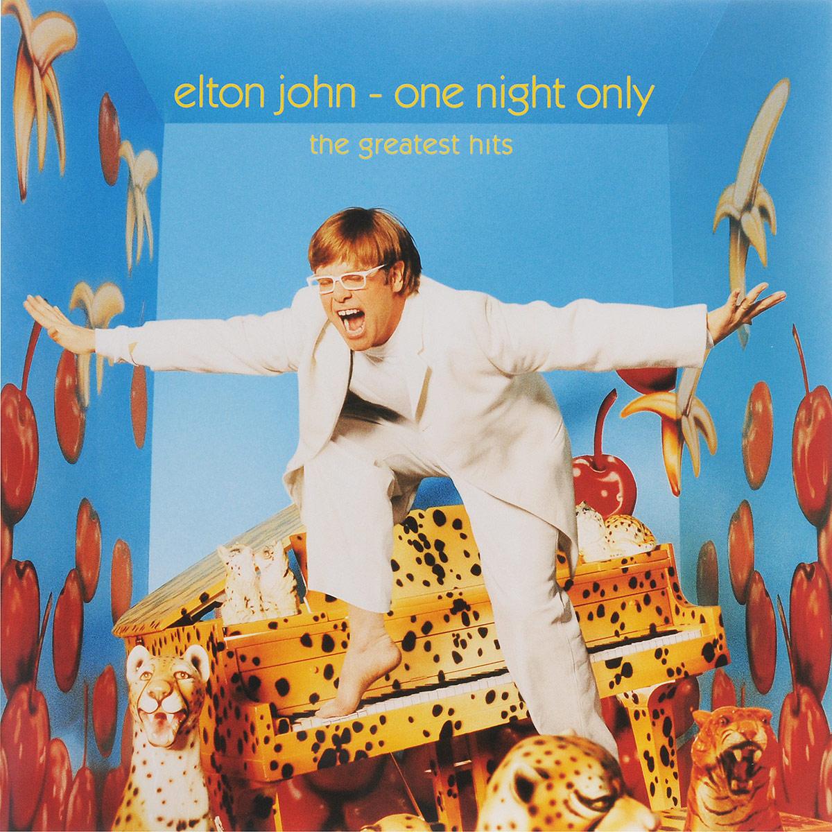 Фото - Элтон Джон Elton John. One Night Only - The Greatest Hits (2 LP) elton john elton john one night only the greatest hits 2 lp