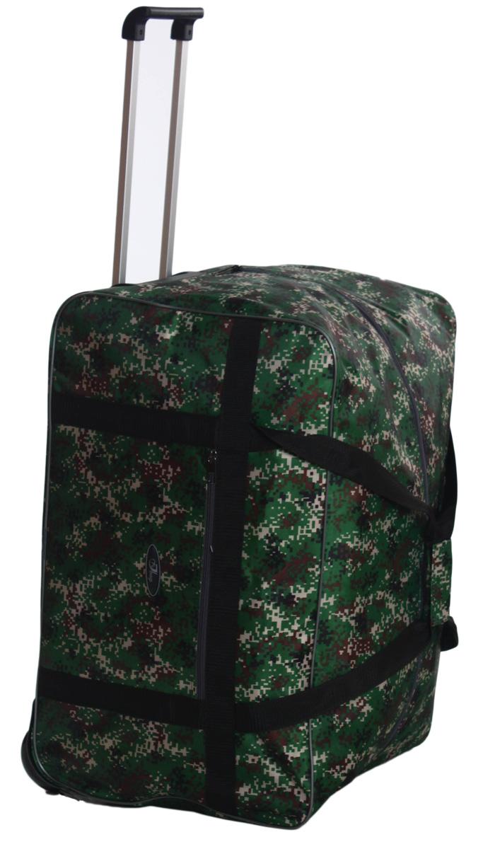 Сумка дорожная Ibag рюкзак на колесах с выдвижной ручкой