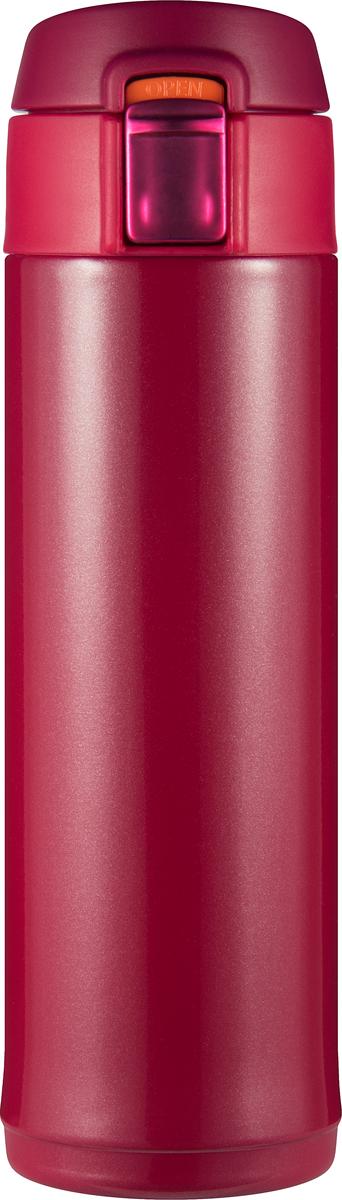 Термостакан Woodsurf Quick Open 2.0, цвет: красный, 300 мл термостакан quick open 2 0 коричневый металлик 480мл