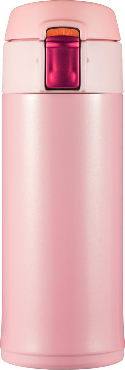 Фото - Термостакан Woodsurf Quick Open 2.0, цвет: розовый, 350 мл [супермаркет] jingdong геб scybe фил приблизительно круглая чашка установлена в вертикальном положении стеклянной чашки 290мла 6 z