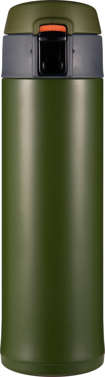Термос Woodsurf Quick Open 2.0, цвет: зеленый, 480 мл термостакан woodsurf on the way цвет белый 500 мл