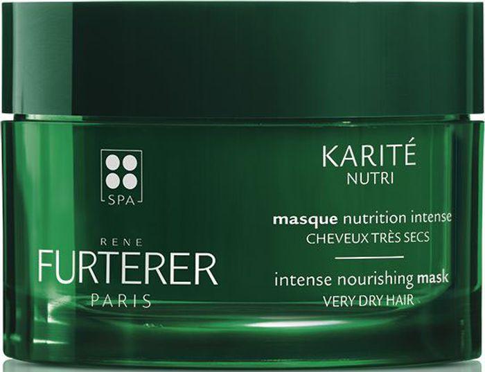 Rene Furterer Karite Nutri Интенсивно питающая маска для очень сухих волос, 200 мл маска увлажняющая питательная 100 мл rene furterer carthame