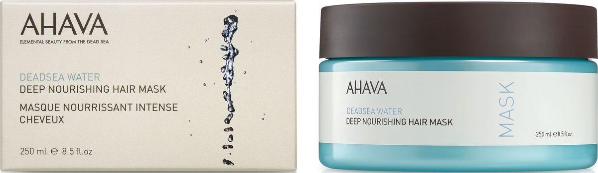 Ahava Deadsea WaterИнтенсивная питательная маска для волос, 250 мл Ahava