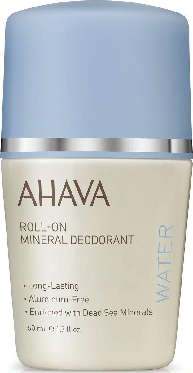 Ahava Deadsea Water Дезодорант шариковый минеральный для женщин, 50 мл