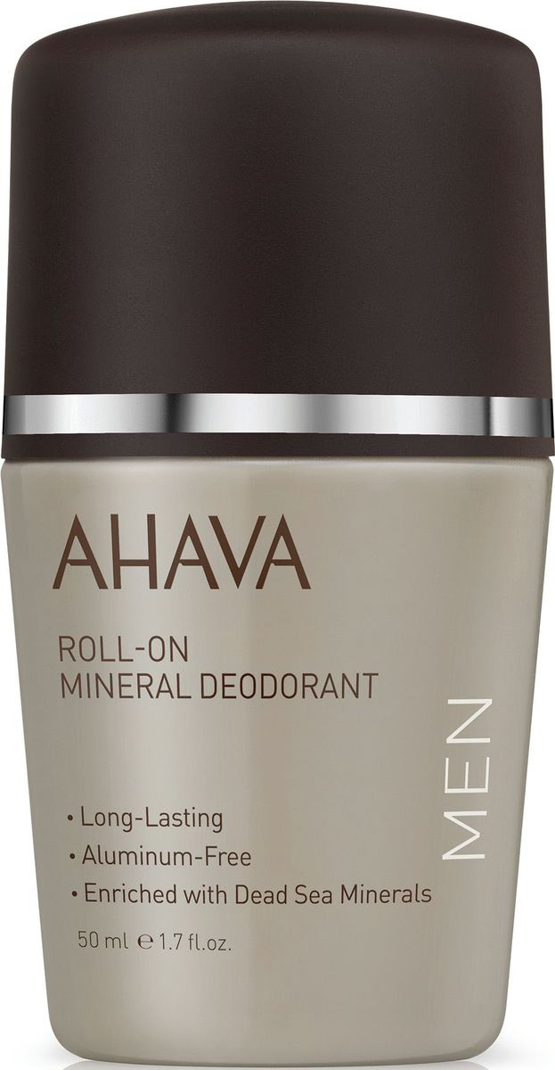 Ahava Time To Energize Дезодорант шариковый минеральный для мужчин, 50 мл