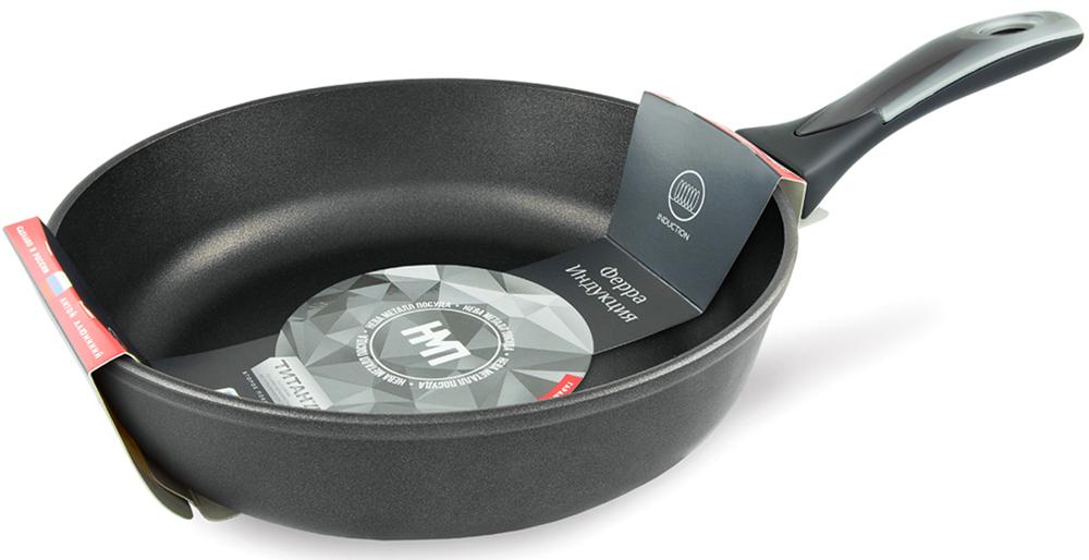 Сковорода Нева металл посуда Ферра, с антипригарным покрытием. Диаметр 24 см сковорода нева бордо диаметр 28 см